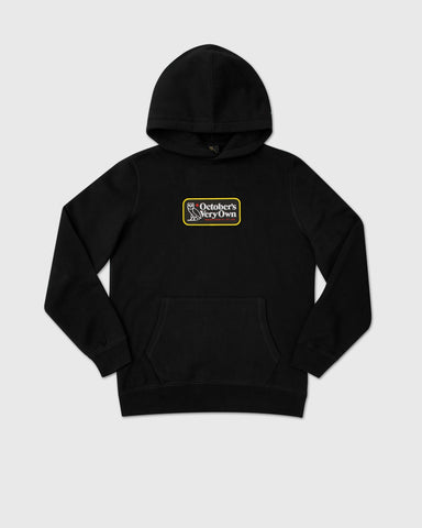 TRUE NORTH HOODIE - BLACK