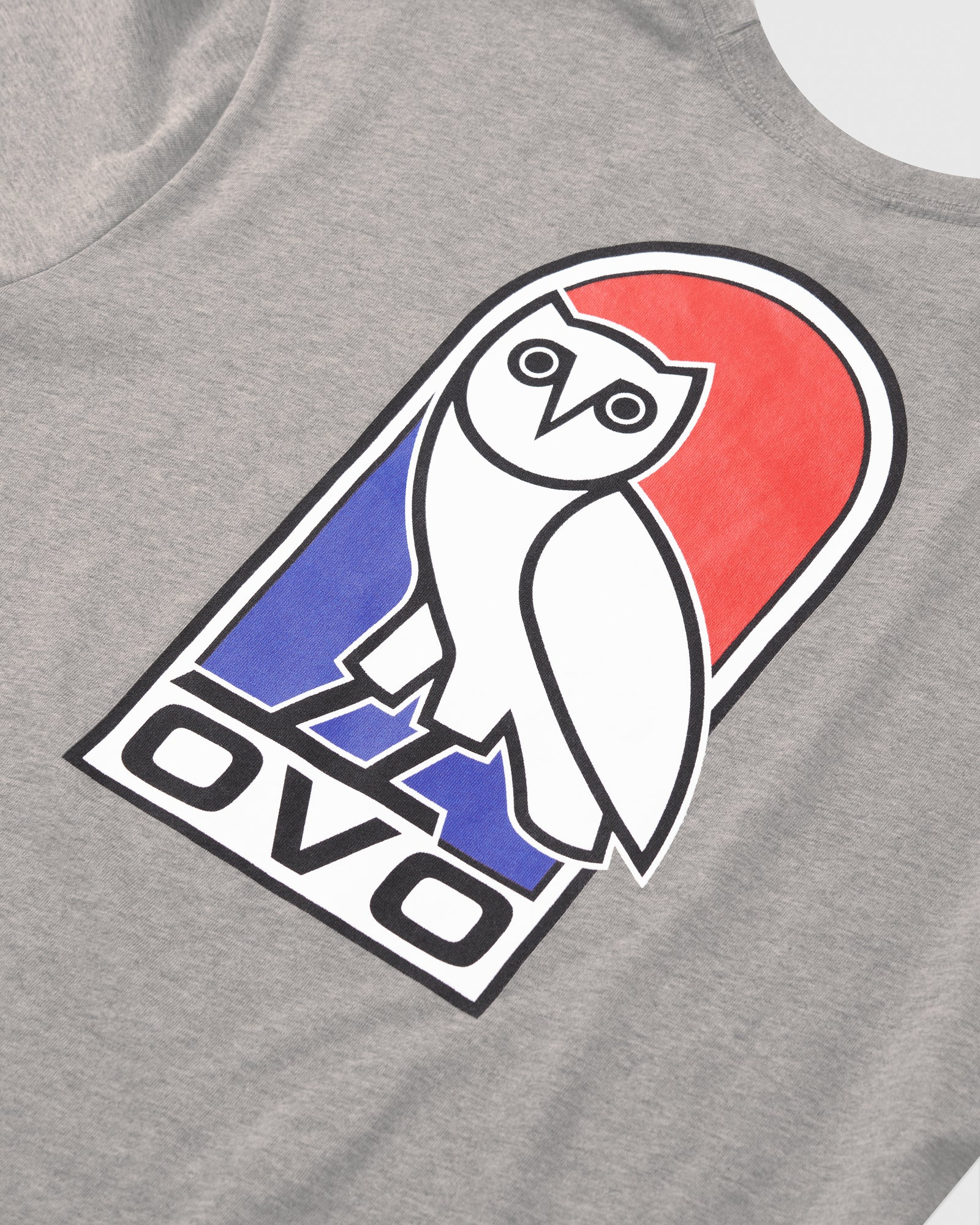 VAULT OWL LONGSLEEVE T-SHIRT - HEATHER GREY IMAGE #7