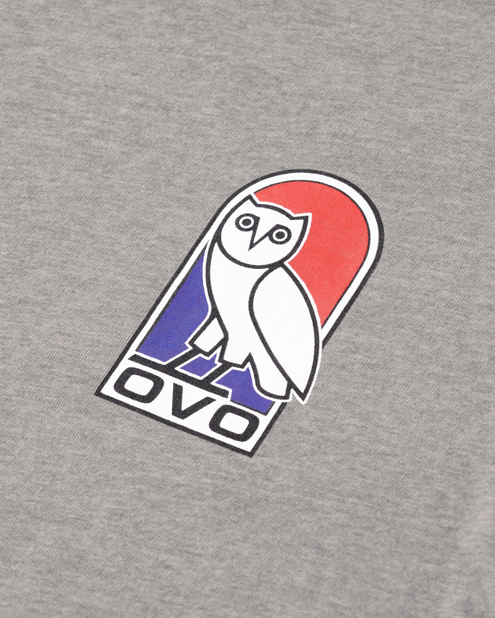 VAULT OWL LONGSLEEVE T-SHIRT - HEATHER GREY IMAGE #6