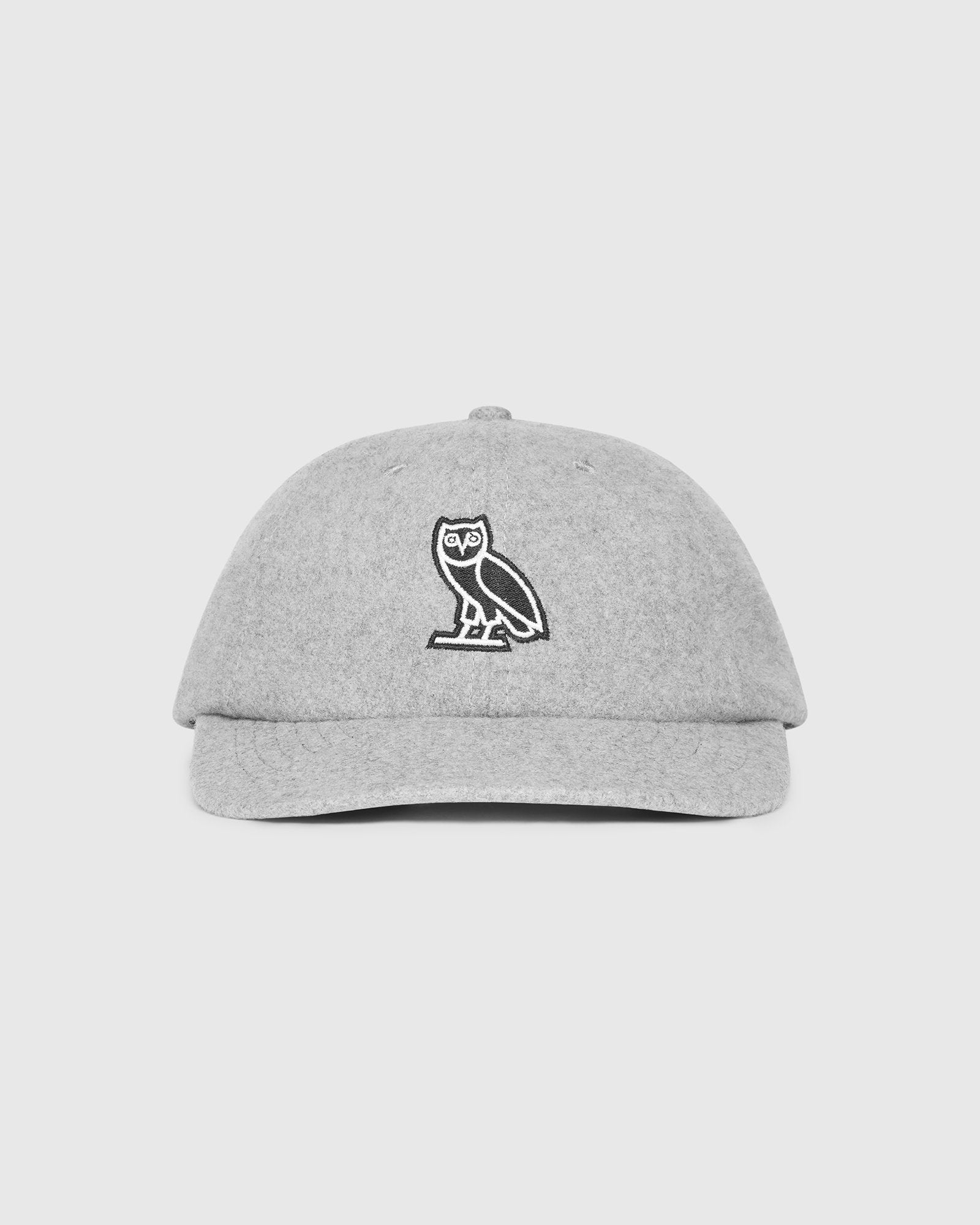 WOOL OWL SPORTCAP - HEATHER GREY IMAGE #1