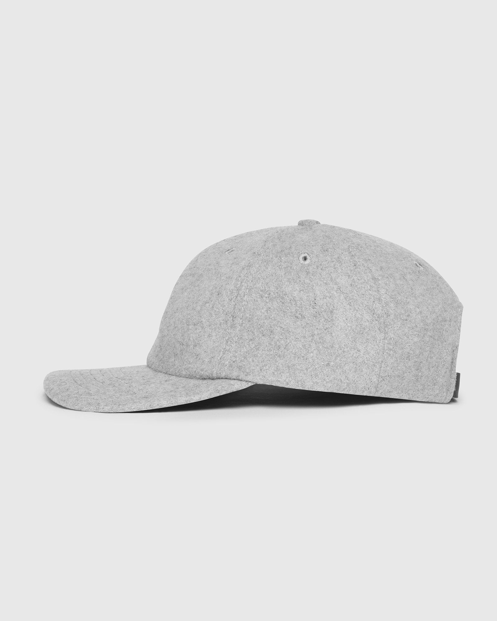 WOOL OWL SPORTCAP - HEATHER GREY IMAGE #2