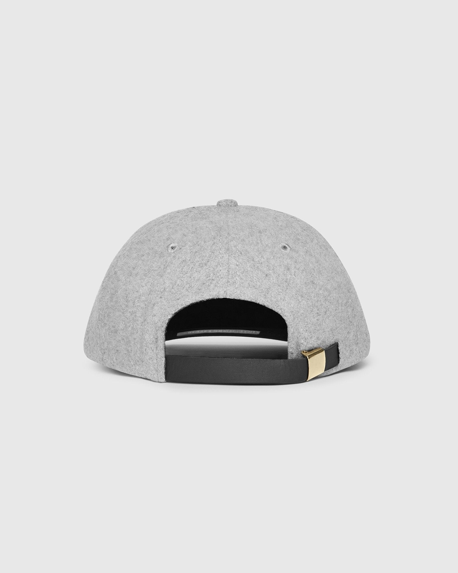 WOOL OWL SPORTCAP - HEATHER GREY IMAGE #3