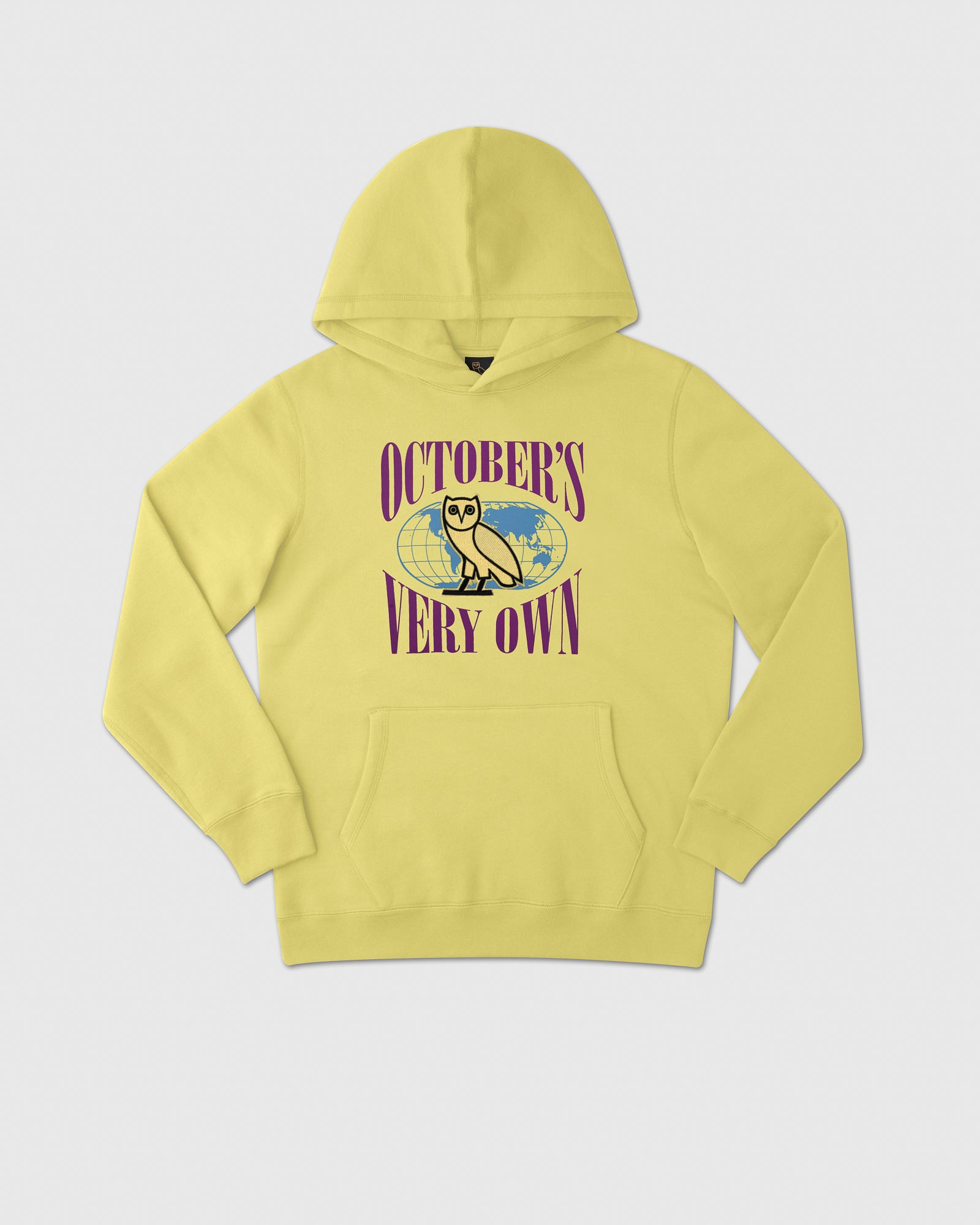 WORLD TOUR HOODIE - PALE YELLOW IMAGE #1