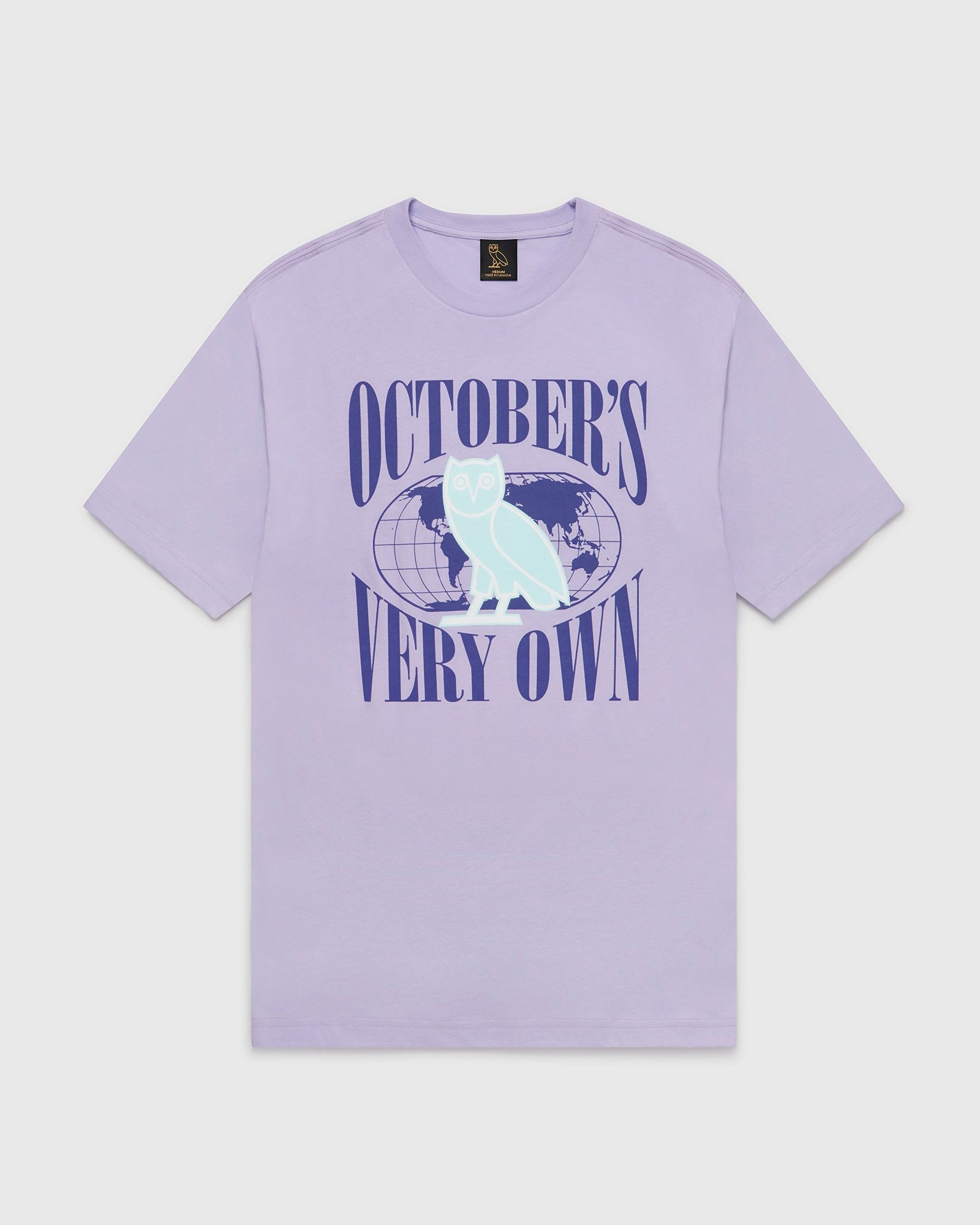 WORLD TOUR T-SHIRT - PALE PURPLE IMAGE #1