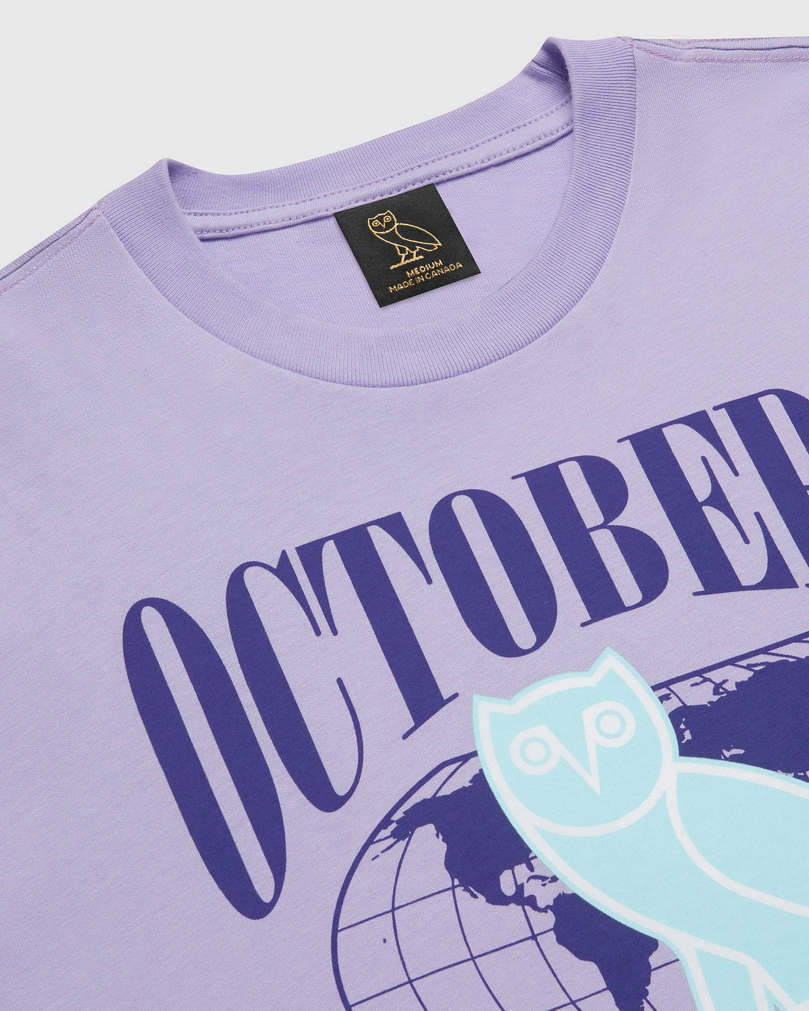 WORLD TOUR T-SHIRT - PALE PURPLE IMAGE #2