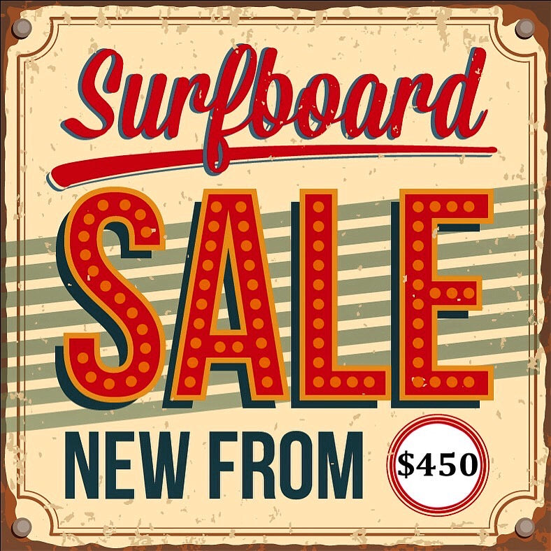 Online Surfboard Sale & Free Shipping