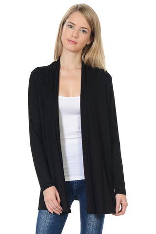 Long Sleeve Jersey Cardigan