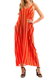 Strappy Harem Maxi Dress with Pocket