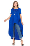 High-Low Maxi Top in Plus Size