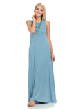 Sleeveless Maxi Dress with Pockets