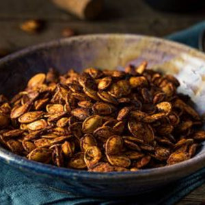 Tasty Spiced pumpkin seeds