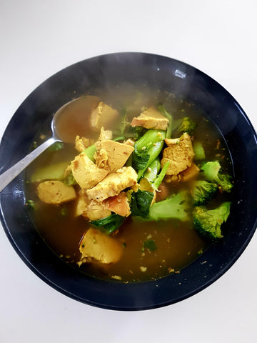 Anti-Inflammatory Turmeric Ginger and Chicken Broth Recipe Healthy Sickness