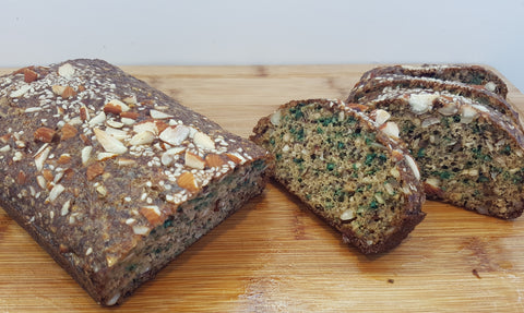 paleo chia seed almond nut bread recipe easy