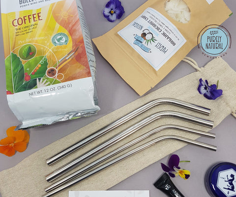 purely natural prize pack win eco straws coffee coconut winner