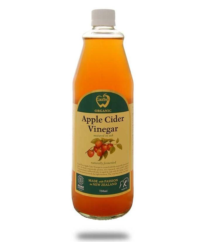 Coral Tree Apple Cider Vinegar 750ml - Purely Natural NZ