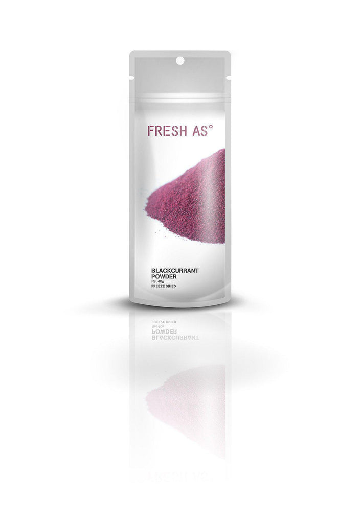 Fresh As Blackcurrant Powder 40g - Purely Natural NZ