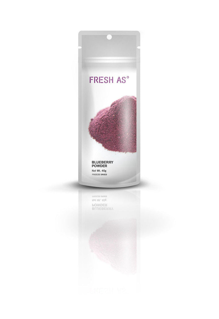 Fresh As Blueberry Powder 40g - Purely Natural NZ