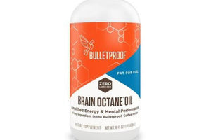 Large - Bulletproof  Brain Octane Oil -  946ml (32 fl oz) - Purely Natural NZ