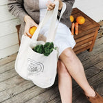 Organic Canvas Pocket Tote