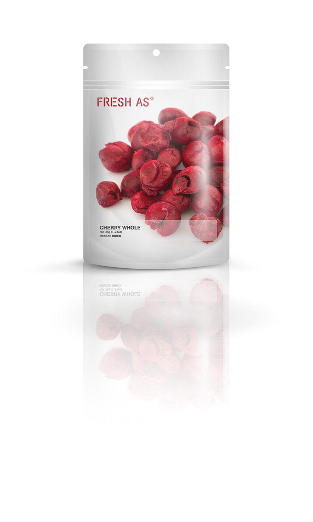 Fresh As - Freeze Dried Cherry Whole 35g - Purely Natural NZ