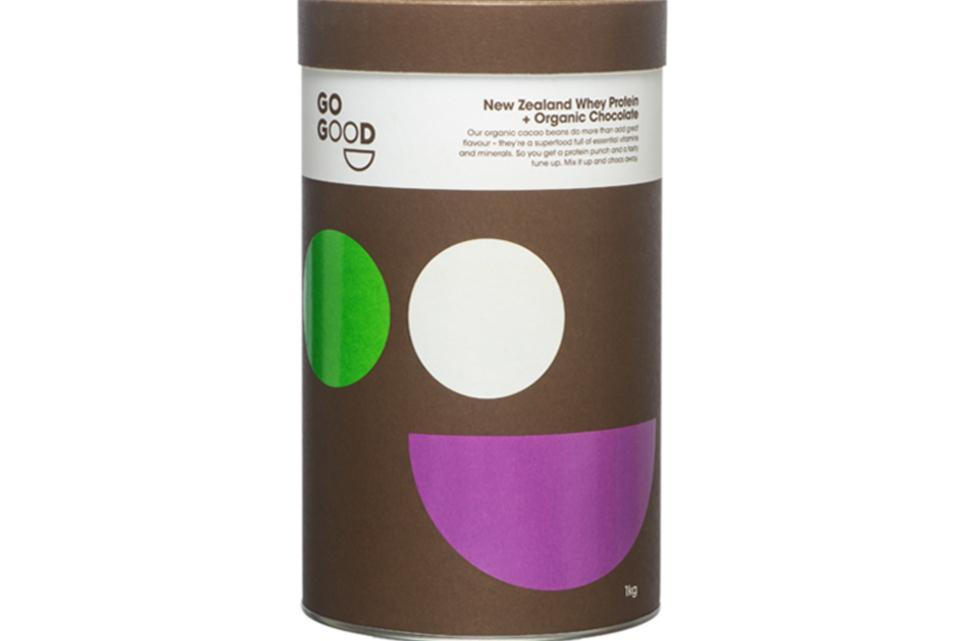 Go Good Organic Chocolate Whey Protein Powder - 1kg - Purely Natural NZ