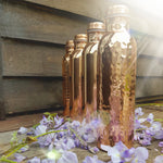 Pure Copper Drink Bottle - Smooth Shiny finish (850ml)