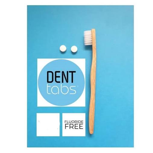 DENTtabs Tooth Tablets - Flouride Free