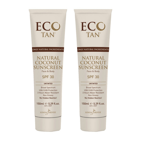 Eco Tan Coconut Sunscreen Untinted