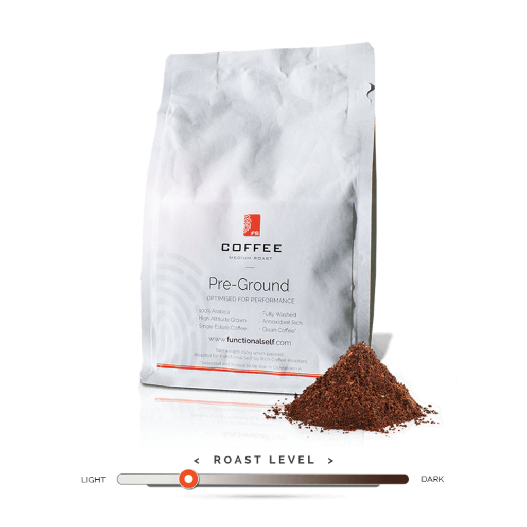 Functional Self | 100% Arabica Coffee | Pre-Ground 250g