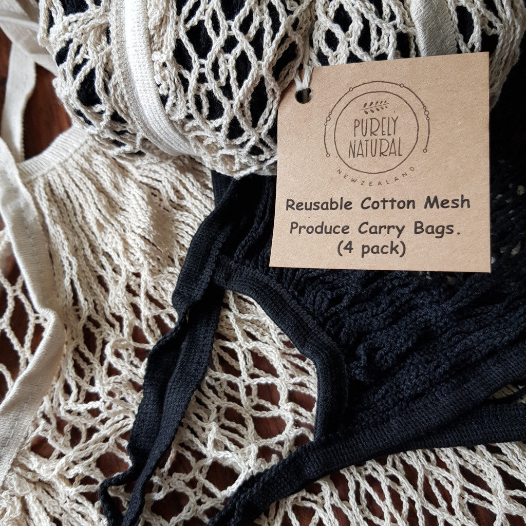 French Cotton Net Bag
