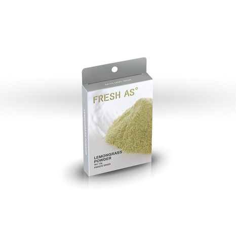 Fresh As Lemongrass Powder 10g - Purely Natural NZ