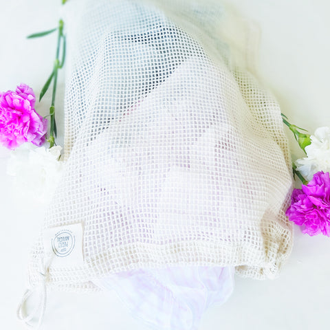 Purely Natural - Organic Cotton Lingerie Wash Bag