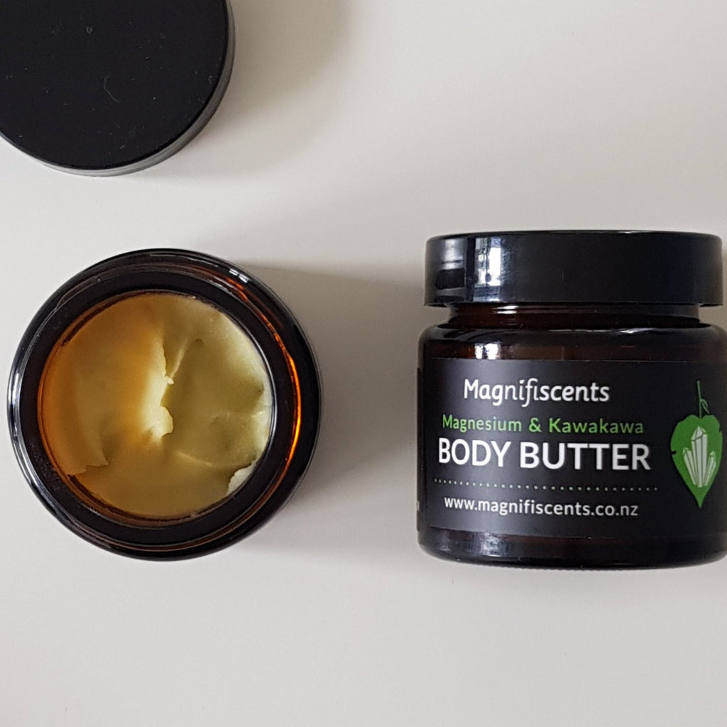 Magnesium Body Butter with Kawakawa