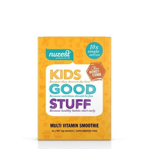 Nuzest kids good stuff Sample - Choc Honey Comb