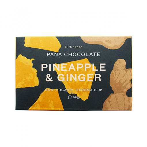 Pana Chocolate Pineapple and Ginger - Purely Natural NZ