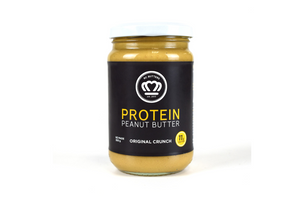 RC Butters Protein Peanut Butter Original Crunch - 300g - Purely Natural NZ