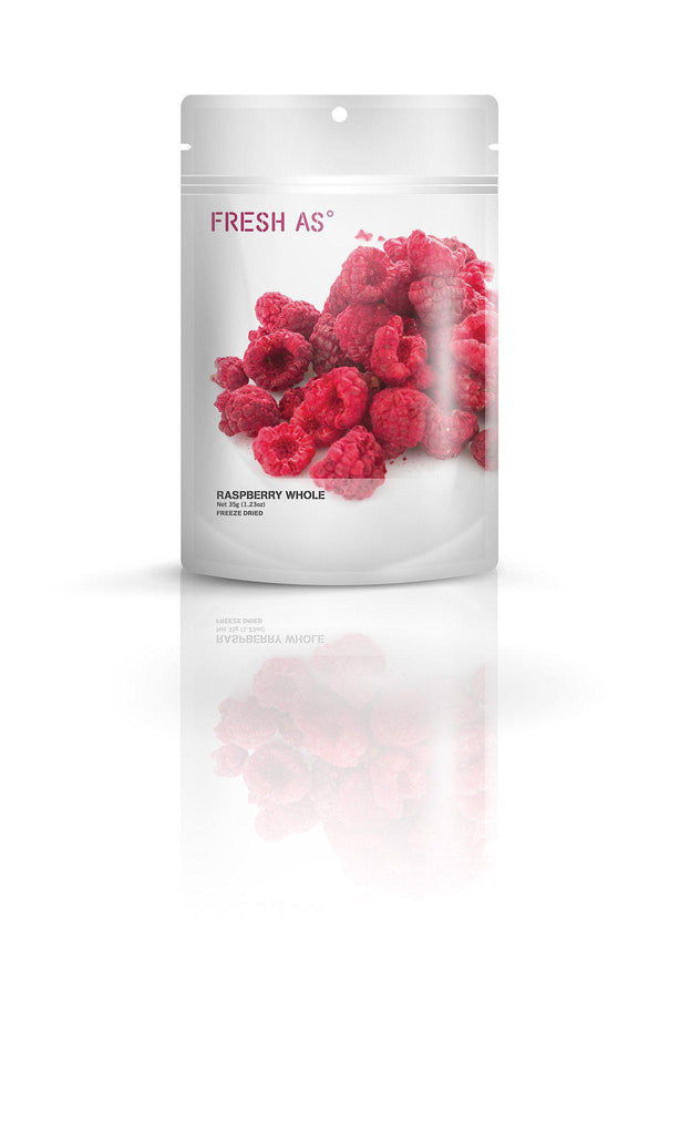 Fresh As Raspberry whole 35g - Purely Natural NZ