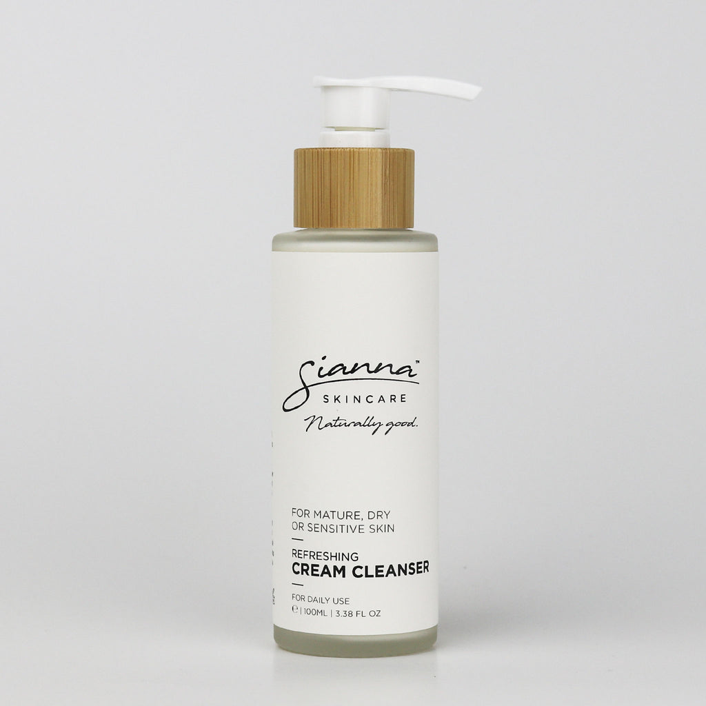 Sianna Skincare - Cooling Cream Cleanser with Aloe Vera (V) - Purely Natural NZ