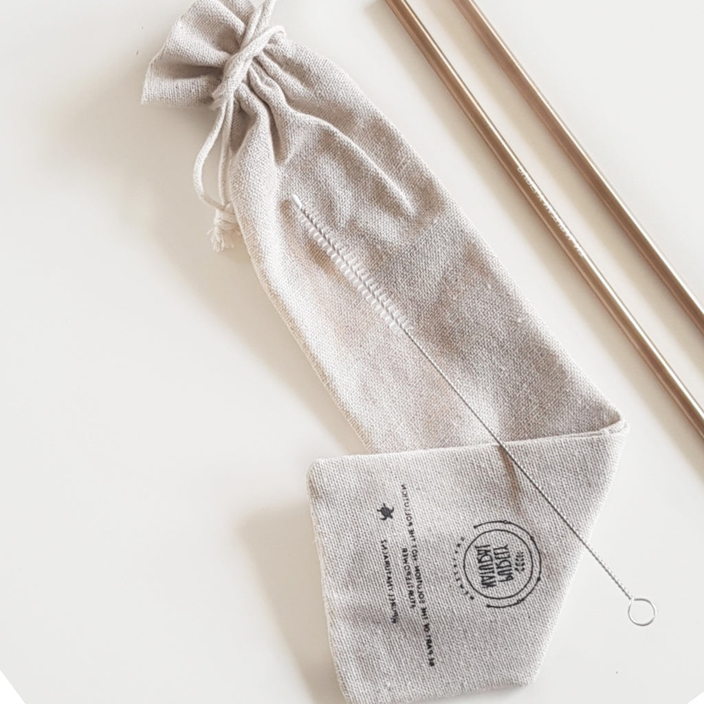 Reusable Straw Cotton Carry Bag