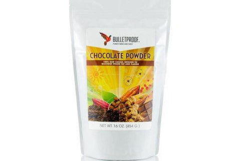 Bulletproof Upgrade Chocolate Powder –  454g (16oz) Bag - Purely Natural NZ