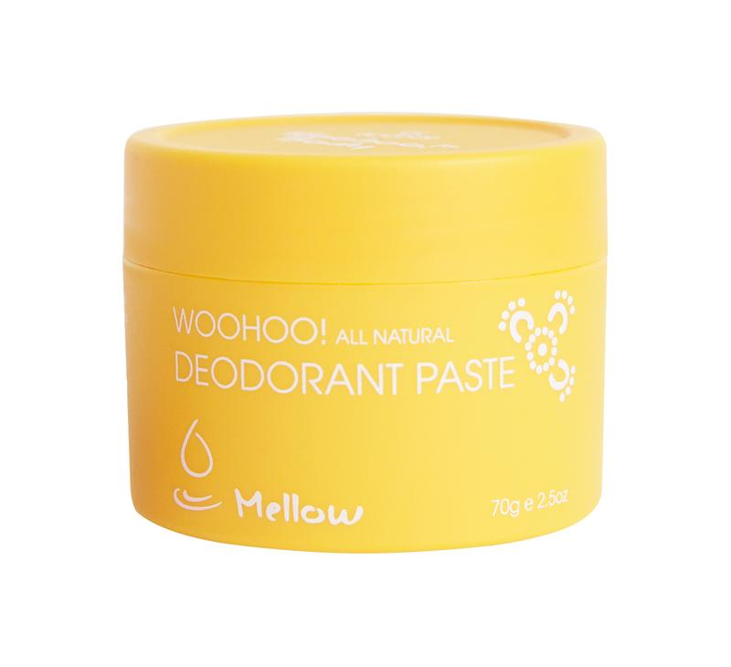 Woohoo All Natural - Sensitive Skin Deodorant Paste (Mellow) 70g - Purely Natural NZ