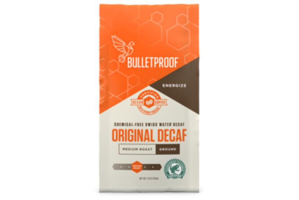 Decaf - Bulletproof® Coffee –  Decaf Whole Bean 340g (12oz) Bag – Purely Natural