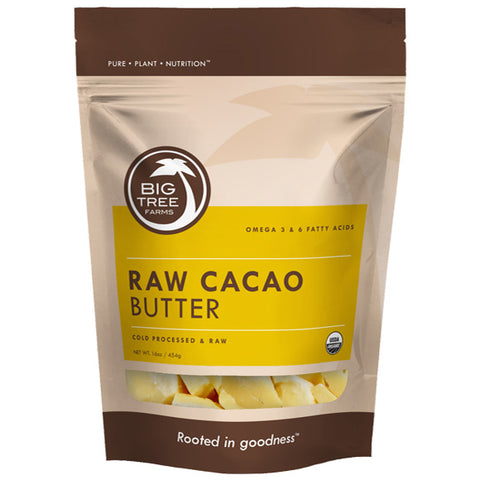 Big Tree Farms -  Organic Raw Cacao Butter (250g)