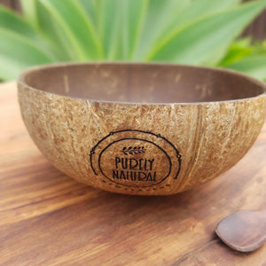 Purely Natural NZ - Coconut Bowl  Natural