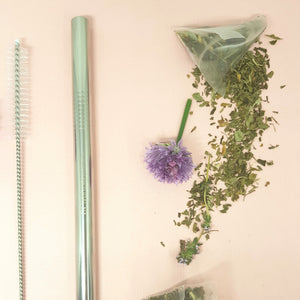 Purely Natural NZ - Silver Bubble Tea Straw