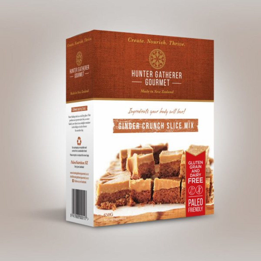 HGG - Ginger Crunch Pack - Paleo baking Mix