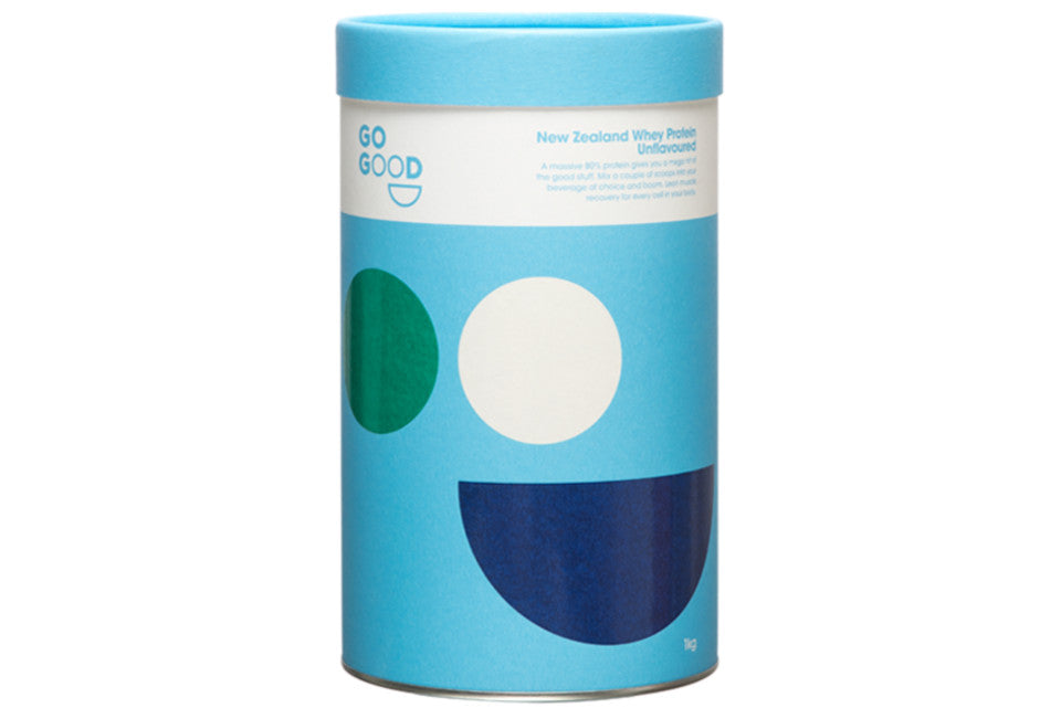 Go Good | Organic Whey Protein Powder | Unflavoured 1KG
