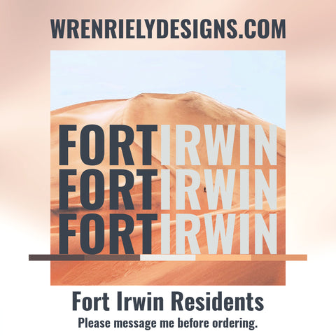 Fort Irwin Special Discount