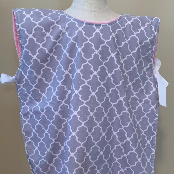 Special Needs Big Kid Extra Long Bib Smock-Multiple Fabrics