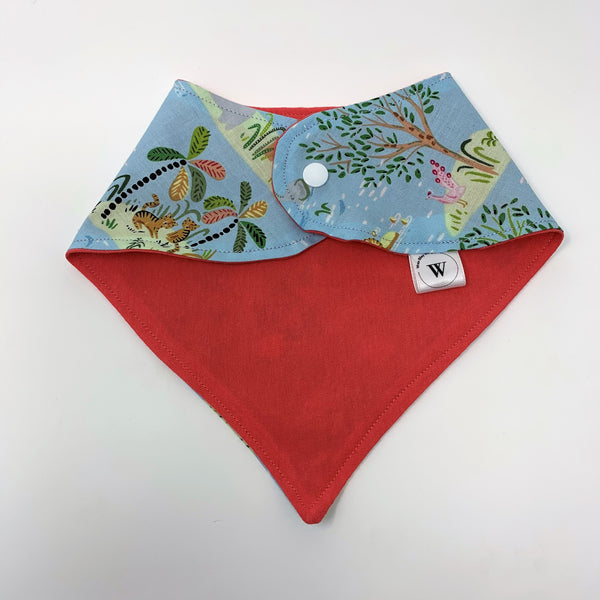Lion Around 3 Piece Gift Set-Burp Cloths & Bandana Bib